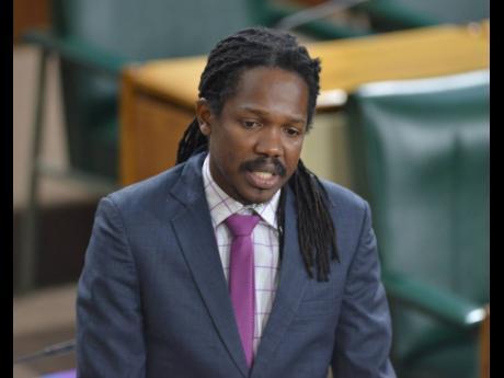 Senator Damion Crawford.