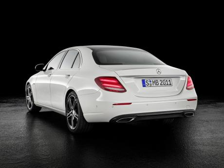 Mercedes Benz E-Class with SportStyle package and Aero Wheels.