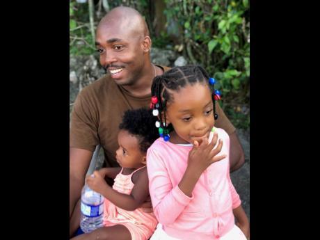 Ricardo Nicks along with his girls, Keyarah and Kendrah-Kaye.