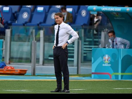 Italy manager Roberto Mancini.
