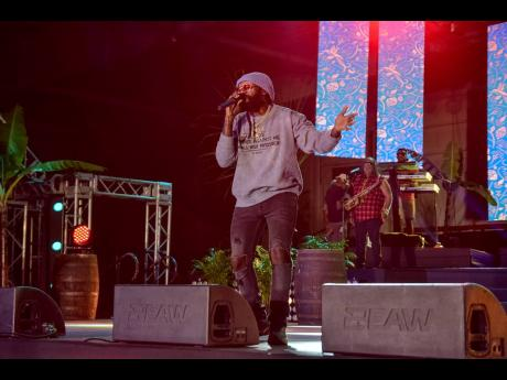 It was an evening of good vibes, and celebration as Tarrus Riley closed the Father's Day edition of Appleton Estate Reserve the Night.