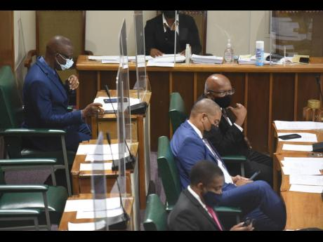 Westmoreland Central MP George Wright is relegated to the back benches of the Opposition, which disapproved of his presence among them on Tuesday.