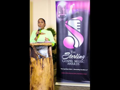 Basillia Barnaby-Cuff, founder of Sterling Gospel Music Awards, announced the format of the upcoming ceremony at the media launch held yesterday.