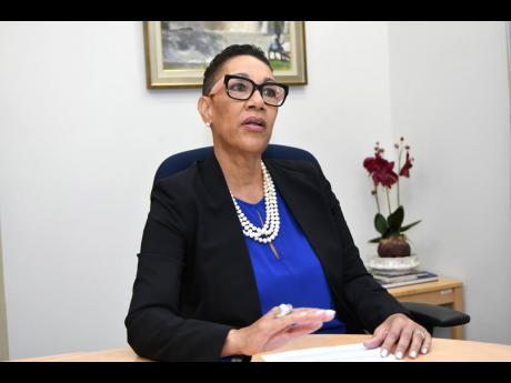 Eva Lewis, country manager for Citibank Jamaica.