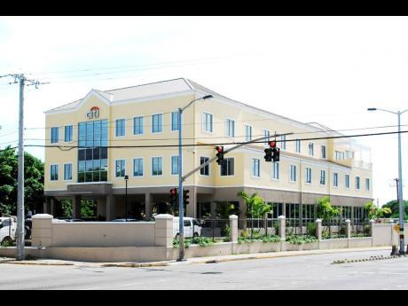 Citibank Jamaica headquarters in Kingston.