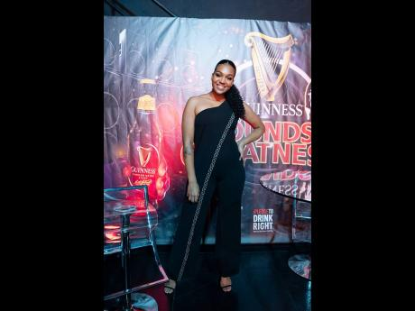 Call it kismet. Guinness Sounds of Greatness co-host Ashley Miller came dressed in the power shade of black just as Black Blunt came out on top in the final clash of Round One and earned a place in the semi-finals.