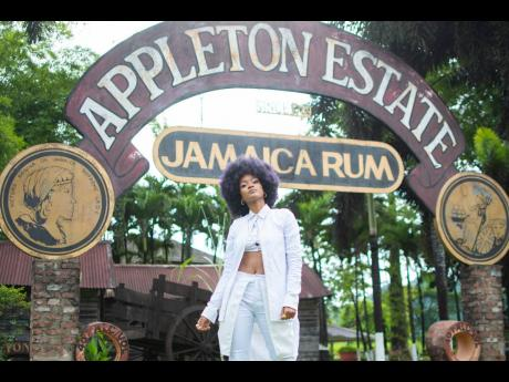 The Appleton Estate in St Elizabeth was Jaz Elise's playground on Sunday, for the Reserve the Night Father's Day edition. Elise hit all the right notes in fashion and her performance, dressed from head to toe in a custom-made white jacket and pants sui