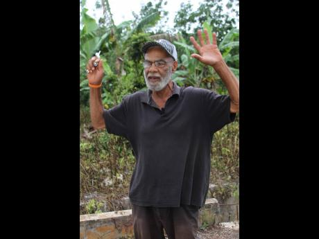 Loveant Cardiff Williams speaks of his love for Jamaica.