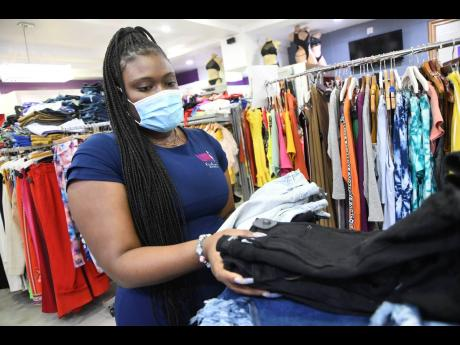 Kiara Henny, sales representative of Loud Fashion, is hoping the reopening of entertainment sector will have positive spin-offs for the fashion industry – clothing stores and designers alike.