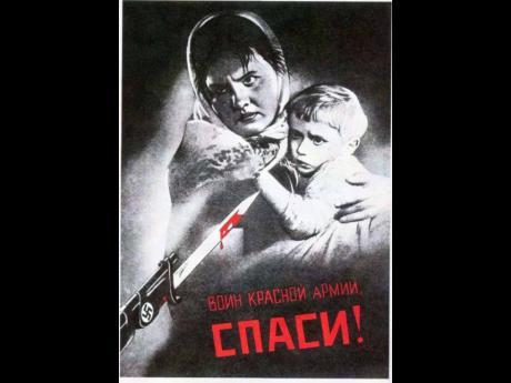 Red Army Warrior – save us! (1942) by V.G.Koretskiy.