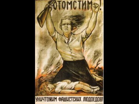 We'll avenge! (1942) by I.Rabichev.