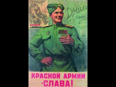 """""""Glory to the Red Army!"""" (1945) by L.Golovanov"""
