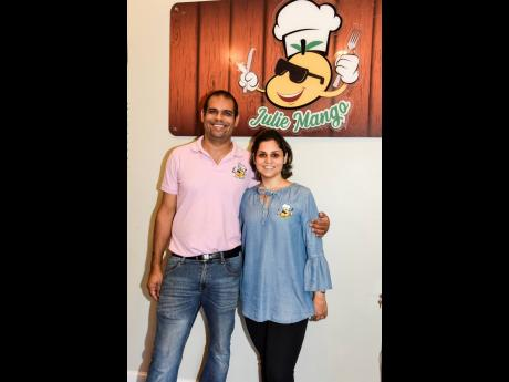 Co-owners of Julie Mango Restaurant, Julie Ramchandani, and her husband, Rajiv Harpalani, are happy to be providing quality cuisine for local foodies.