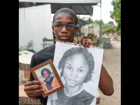Ajalon Cole, a Kingston College student, is experiencing challenges with his eyesight and is now encouraging persons to order a still portrait of themselves to help fund a new pair of glasses.