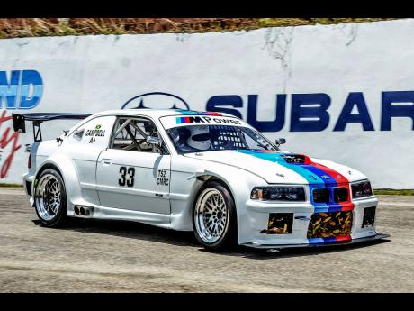 The V8 BMW M Powered monster of Chris Campbell.