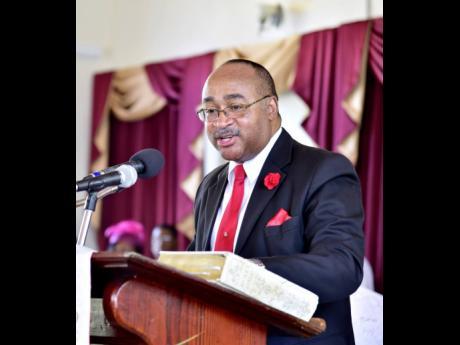 Former director general of ODPEM, Major Clive Davis.