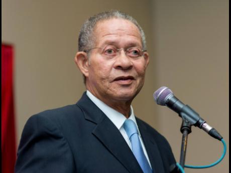 Former Prime Minister of Jamaica,  Bruce Golding.