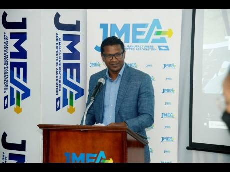 Richard Pandohie, president of the Jamaica Manufacturers and Exporters' Association,