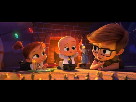 Alec Baldwin, James Marsden and Lisa Kudrow star in the whacky animated comedy, 'The Boss Baby: Family Business'.