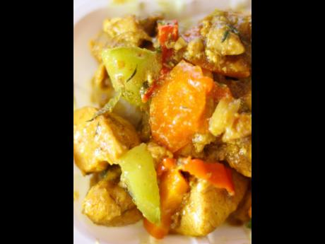 Curried chicken makes for a good breakfast or lunch says the owner of Early Morning Restaurant.