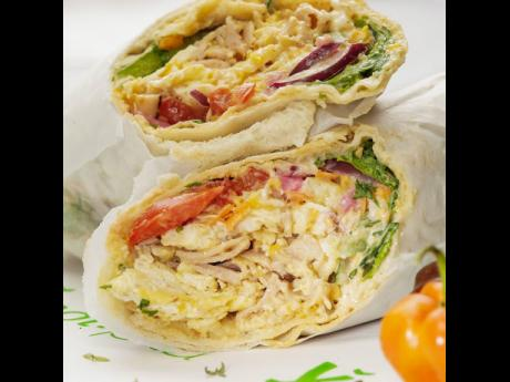 Y Not Pita has a variety of wraps for fitness enthusiasts. They also serve breakfast daily.