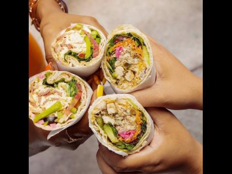 Y Not Pita serves traditional Lebanese dishes with a Jamaican flair and spices such as Scotch bonnet pepper and jerk seasoning.