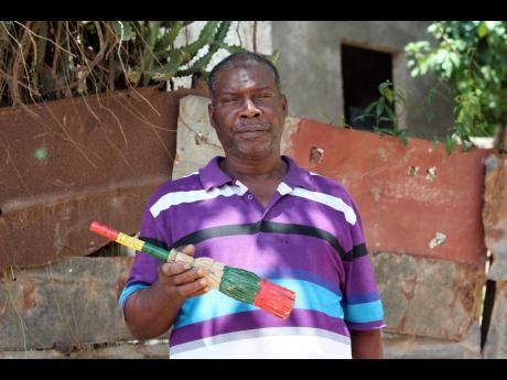 Fenton Bent believes in the business of brooms.