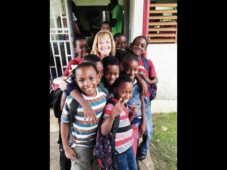 At the centre of it all, Issa Trust Foundation's President and CEO Diane Pollard says philanthropy and working to achieve goals for the children, is her happy place.