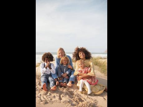 Vanessa Ford and her Swedish beau Johan Schiller and their children. Vanessa Ford and her Swedish beau Johan Schiller and their children.