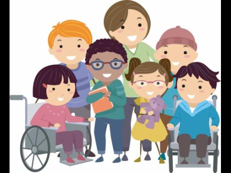 In 2021 AD, I challenge you to see the able not the label and I charge you, make room in Jaminn for our special needs children!