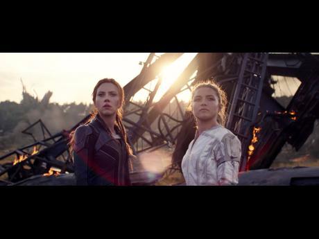 Florence Pugh (right) plays Yelena – the sister of Scarlett Johansson's character Natasha Romanoff/Black Widow – in Marvel Studios' 'Black Widow'.