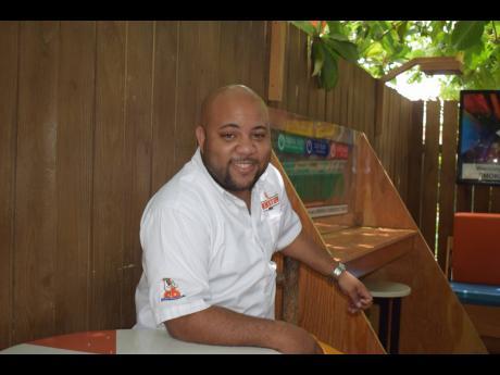Gavin Valentine, owner of Kingston Jerk.