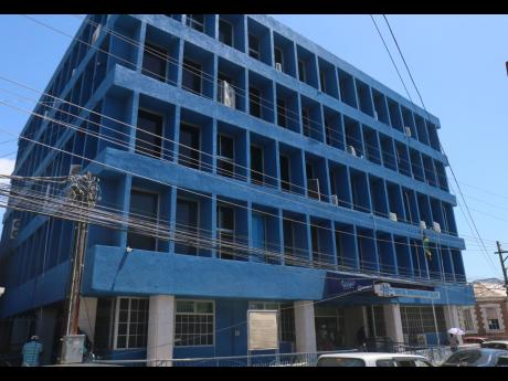 A current photo of the St James Municipal Corporation building located in Montego Bay, the birthplace of the idea which ultimately became the infamous 1999 Street People Scandal. City officials were linked to the kidnapping of 39 persons, some mentally ill