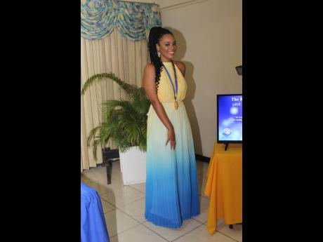 Dr Kimberly Freeman was regal and radiant for her installation as Rotary Club of Mandeville president.