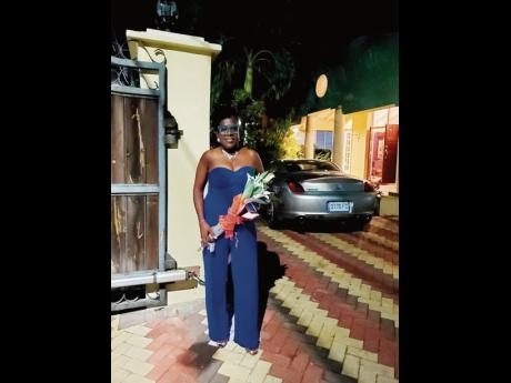 Actress Deon Silvera dazzled in blue at a surprise party held to celebrate her birthday last Saturday in Norbrook.
