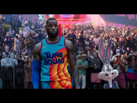 LeBron James in a scene from 'Space Jam: A New Legacy'.