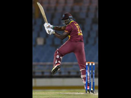 West Indies all-rounder Andre Russell.