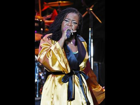 Stacious performed a medley, including 'Come Into My Room', her collaboration with Mavado, and her Festival Song entry, 'Jamaican Spirit'.
