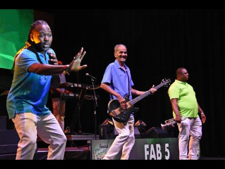 Show band, Fab 5, said entering the 2021 Jamaica Festival Song Competition was all about making a song to get everybody moving.