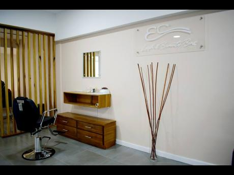 EC Makeup Bar is located inside the New Kingston Business Centre.