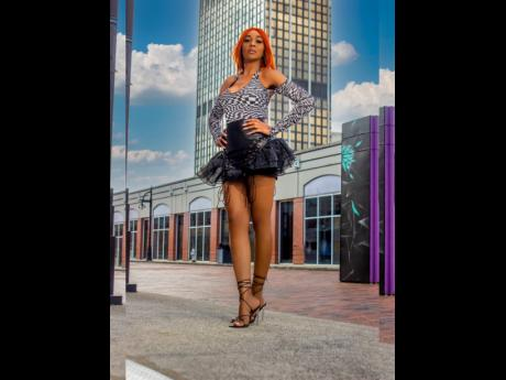 D'Angel is single by choice and is focused on her son and her career.