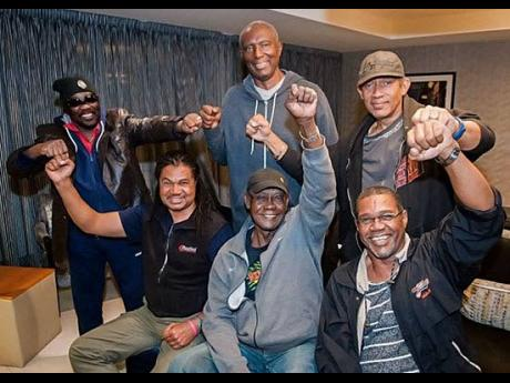 Members of the Maytals Band with Toots. The band has been sent a cease and desist letter by the estate of the late reggae icon, over the use of the name 'Maytals'. They have been using the name for over 50 years.