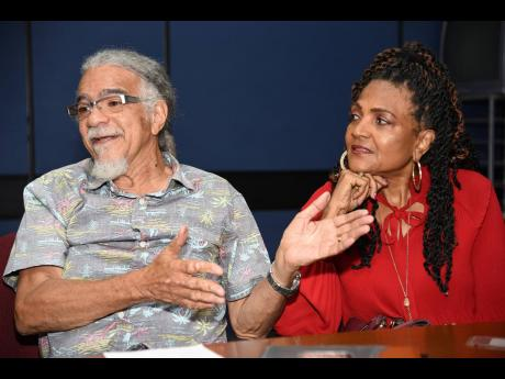 'This Island Needs Jesus' was written by Tommy Cowan (left), and wife, Carlene Davis.