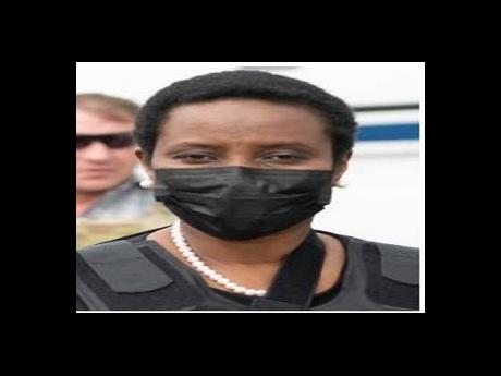 First Lady Martine Moise