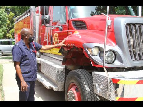 Dennis Lyon, acting deputy superintendent in charge of the Jamaica Fire Brigade's Clarendon division, has warned residents not to make false fire reports.