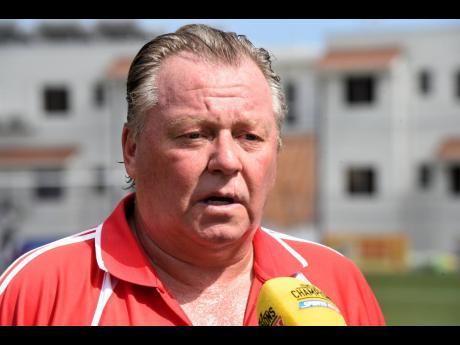 Mount Pleasant FA head coach Walter Downes.