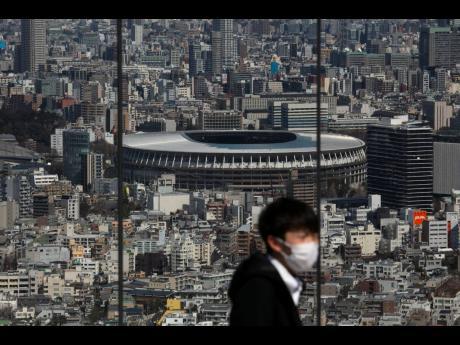 The Olympic Stadium, in Tokyo, Japan.