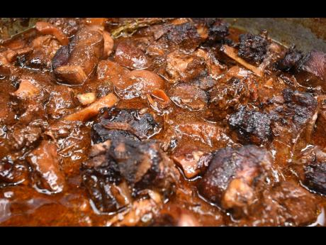 The stewed pork at Tego HQ is described as second to none.