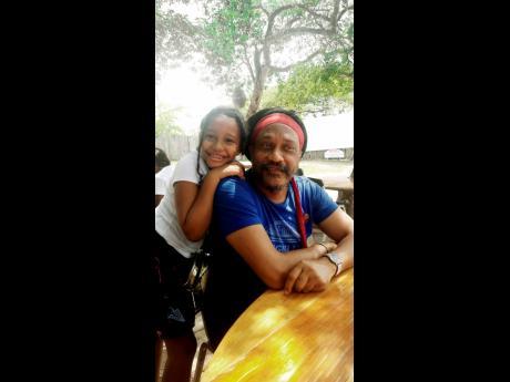 Yasus Afari (right) and his nine-year-old daughter, Mikaya 'MiK' Sinclair.