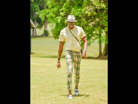 Kevin Clarke does not only know how to lead the Sandals Ocho Rios team, he knows how to make a fashion statement, too. He did just that at a brunch that was put on for the resort's managers.